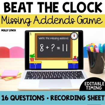 Beat the Clock: Missing Addends