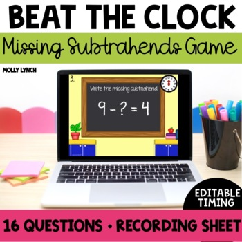Beat the Clock: Missing Subtrahends