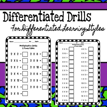 Beat the Clock Multiplication Drills