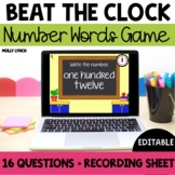 Beat the Clock: Numbers