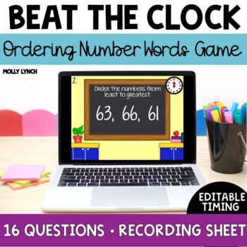 Beat the Clock: Ordering Numbers