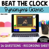 Beat the Clock Synonyms