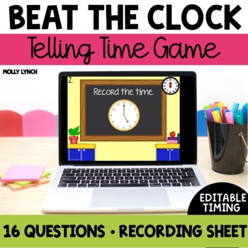Beat the Clock: Telling Time