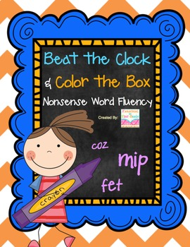 Beat the Clock and Color the Box NWF