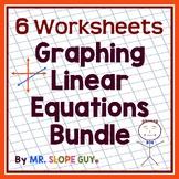 "Math Test Prep Worksheets Grade 8 ""Survivor's Guide"" Mathematics Bundle 2"