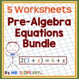 "Math Test Prep Grade 8 ""Beat the FSA"" Mathematics Bundle 3"