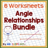 "Math Test Prep Worksheets Grade 8 ""Survivor's Guide "" Mathematics Bundle 4"