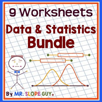 "Math Test Prep Worksheets Algebra 1  ""Survivor's Guide"" Bundle 1"