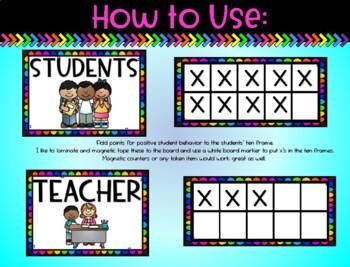 Beat the Teacher: A Whole Classroom Management Strategy