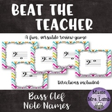 Beat the Teacher: Bass Clef Note Names