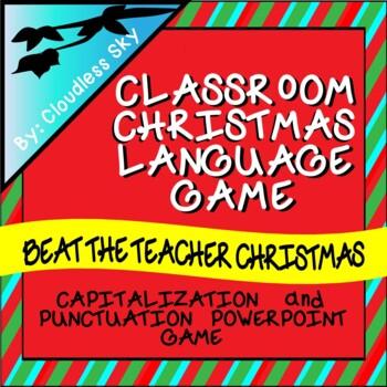 Beat the Teacher Christmas