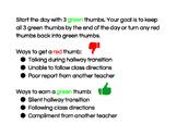 Beat the Teacher (Class Instructions)