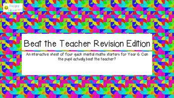 Beat the Teacher Revision Edition