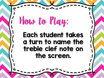 Beat the Teacher: Treble Clef Note Names
