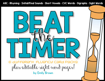 Beat the Timer Fluency Card Packs