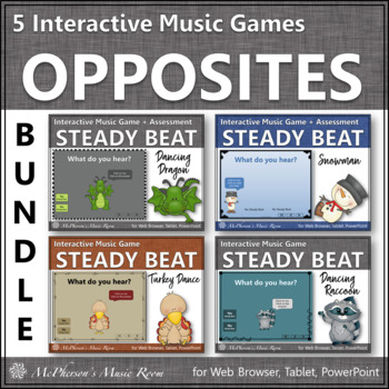 Beat vs No Beat - Interactive Music Games {Bundle}