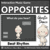 Fall Music Game: Beat Rhythm Interactive Music Game {Ghostie}
