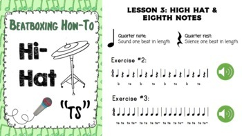 Beatboxing & Rhythm: A 6-lesson Mini-Unit Review For Jr-Int Music Classes
