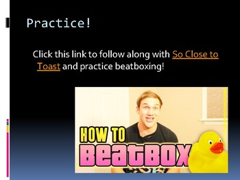 Beatboxing - Introduction & Practice