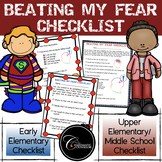 Beating My Fear Checklist (White Background)