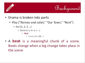 Before you read Shakespeare: drama plot analysis practice - lesson & framework