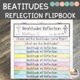 Beatitudes Reflection Flip book