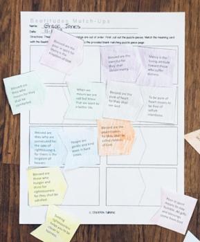 Beatitudes Activity Packet