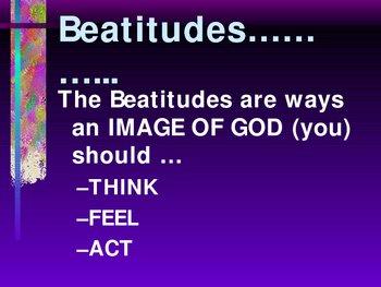 Beatitudes Catholic Power Point