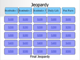 Beatitudes Jeopardy PowerPoint Game