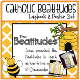 Beatitudes Lapbook and Poster Set (Catholic)