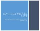 Beatitudes Memory Game