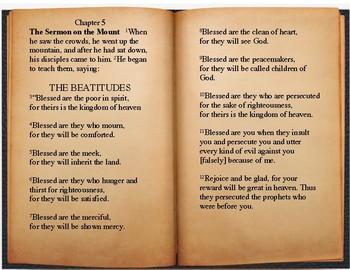 Beatitudes Poster