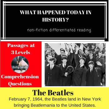 Beatles  Differentiated Reading Passage Feb 7