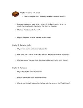 Beatles, Lightly Toasted (Phyllis Reynolds) Comprehension Questions