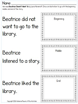 Beatrice Doesn't Want To Book Companion