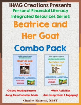 """Beatrice's Goat"" No Prep-Combo Pack (ELA/Math/Personal Financial Literacy)"