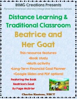 """Beatrice's Goat""-No Prep Level B (ELA/Math/Personal Financial Lit.)"
