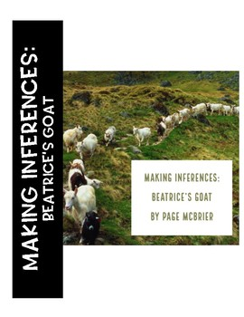 Beatrice's Goat: Making Inferences