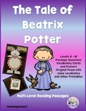 Beatrix Potter Multi-level Reading Passages