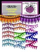 Beautiful Beaded Pages and Banners {Digital Clipart} ~~Colorful~~