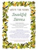 Beautiful Biomes (Habitats) - Write the Room Activity