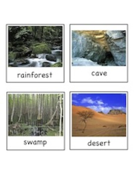 Beautiful Biomes (Habitats) - Write the Room Activity