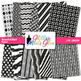 Beautiful Black and White Paper {Scrapbook Backgrounds for