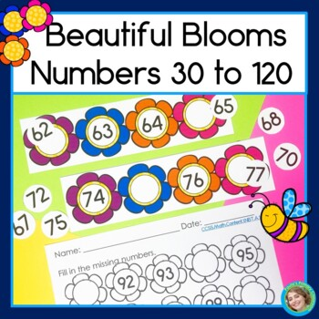 Beautiful Blooms Numbers to 120