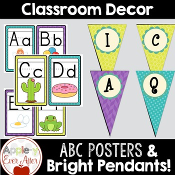 Beautiful Brights Classroom Decor - Over 100 Pages of Classroom Essentials!