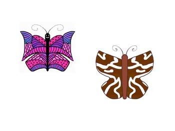 FREE Clipart - Butterflies