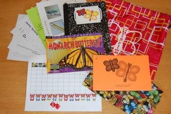 Beautiful Butterflies Science Literacy Bag (PreK-2)