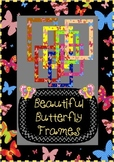 Beautiful Butterfly Frames (Commercial Use)