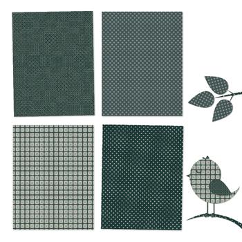 Beautiful Dark Green - 12 Digital Papers