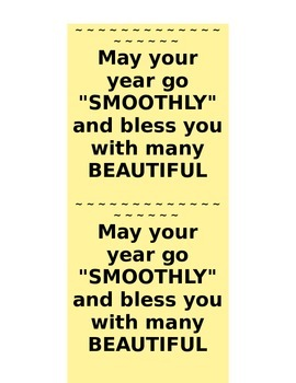 Beautiful Day Smooth Year Teacher Lotion Attachment Cards